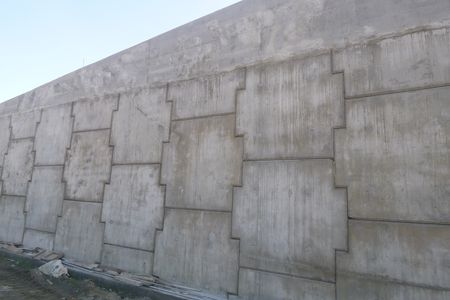 Segmental Precast Concrete Panel Facing Ace