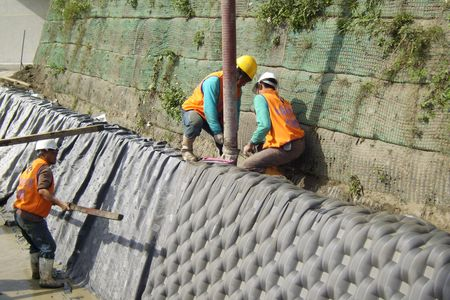 Geotextile Mattress - ACE Geosynthetics EcoPark
